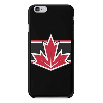 Team Canada Wch Stripes iPhone 6/6S Case