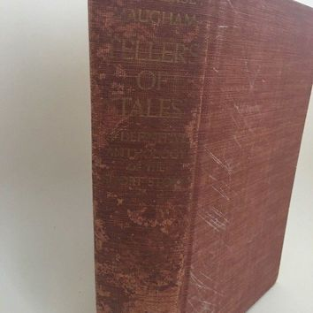 Vintage 1939 Tellers of Tales 100 Short Stories 1st Edition Maugham W Somerset