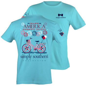 Simply Southern Make America Preppy Again USA T-Shirt
