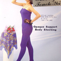 Opaque Support Body Stocking (6pcs)