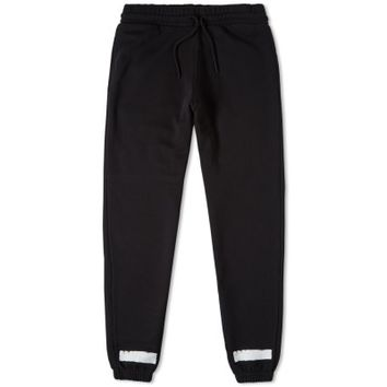 Off-White Brushed Diagonals Sweat Pant