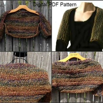 Outlander Inspired Claire's Crochet Shrug Pattern  ** Pattern **  Sassenach Shrug  Is not a finished product.