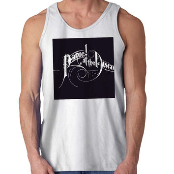 Panic At the Disco For Mens Tank Top Fast Shipping For USA special christmas ***