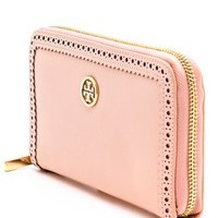 Tory Burch Robinson Spectator Zip Continental Wallet | SHOPBOP | Use Code: EXTRA25 for 25% Off Sale Items