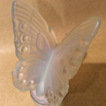 Sabino Glass made in France Butterfly Paper Label