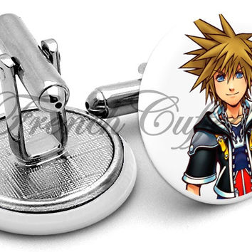 Kingdom Hearts Sora Cufflinks