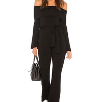 Clayton Malik Jumpsuit in Black