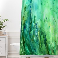 Rosie Brown Cool Off Shower Curtain And Mat
