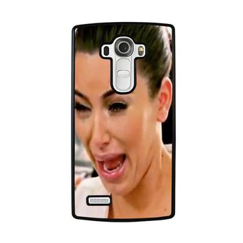 kim kardashian ugly crying face lg g4 case cover  number 2