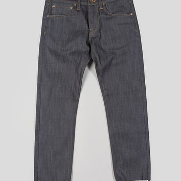 Edwin ED-55 Relaxed Tapered Denim Blue Unwashed White Selvage