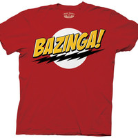The Big Bang Theory Bazinga! T-shirt
