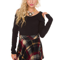Rosalie Plaid Skirt