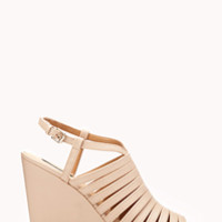 Shop wedged heels and sandals now | Forever 21
