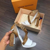 Louis Vuitton LV MATCHMAKE CROSS SANDAL