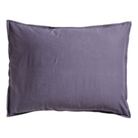 Washed Cotton Pillowcase - from H&M