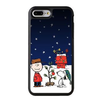 Charlie Brown Christmas Peanuts 001 iPhone 8 Plus Case