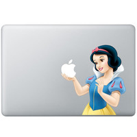 Snow White Vinyl  Decal For Macbook Pro Air 13 inch