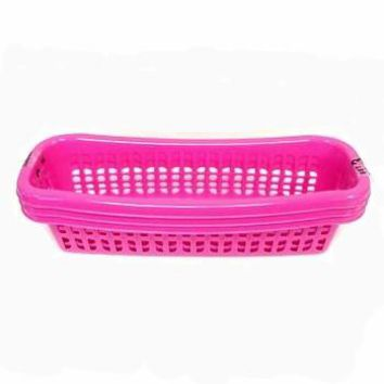 *MULTI-PURPOSE SLIM MESH BASKETS, 3 PACK
