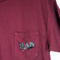 Rad Pocket Maroon Shirt