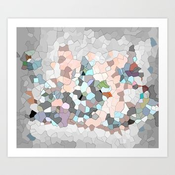Mermaid Cells  Art Print by wtfineart