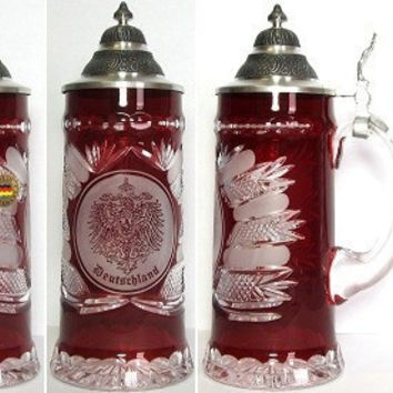 King Werks 0.5 Liter Lord of Crystal Beer Stein