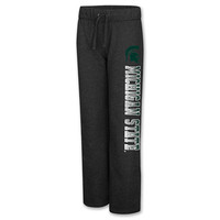 Women's Stadium Michigan State Spartans College Side Screen Print Pants
