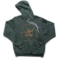 The World is Ours Hoodie - Forest