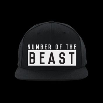 NUMBER OF THE BEAST - Snapback Hat