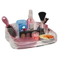 Caboodles Clear 6 Compartment Counter Tray
