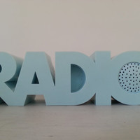 RADIO RADIO Magistretti Tristar TR4280 blue vintage light blue New Old Stock