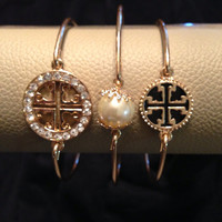 Arm candy set of 3 bangle bracelets