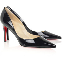 Christian Louboutin New decoltissimo 85 patent pumps