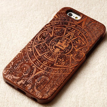 iphone 6 plus case Wood phone case ,Maya iphone 6 wood case,for iPhone 4/4S/5/5S Case Wood .iPhone 6/6 Plus Wood Cover