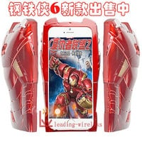 Mark Evolution Avengers Iron Man 3D Armor Hard Back Plastic Case For iPhone 5 6