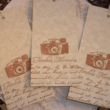 Wedding Wish Tree Tags Set of 25 Camera