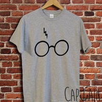 Harry potter shirt lightning glasses unisex tshirt