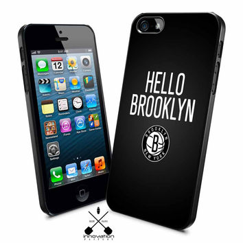 Nets brooklyn logo iPhone 4s iphone 5 iphone 5s iphone 6 case, Samsung s3 samsung s4 samsung s5 note 3 note 4 case, iPod 4 5 Case