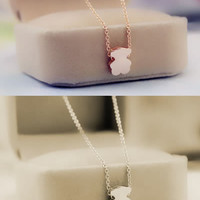 Cute Teddy little Bear necklace ,a perfect gift