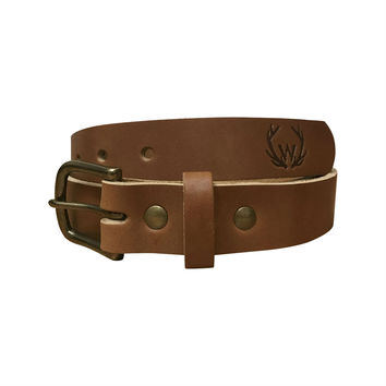 The Heritage Belt - Light Brown