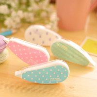 Aihao Kawaii Decoration Sticker Tape Pen Roller Correction Tape Cute Kids Stationery School Supplies Tool For Studen Girls Boys