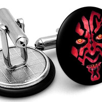 Darth Maul Star Wars Cufflinks