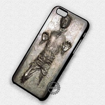 Han Solo in Carbonite Starwars Story - iPhone 7 6 5 SE Cases & Covers