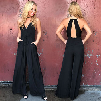 Graceful Little Black Jumpsuit