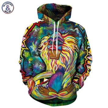 The lion king Rafiki hoodie