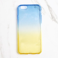 Blue & Yellow Ombre Phone Case