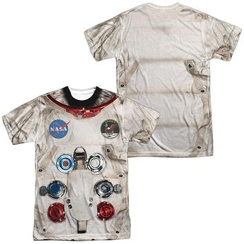 Astronaut Spacesuit Costume T-shirt Front & Back