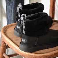 UGG Women Casual Half Boots Trending Shoes