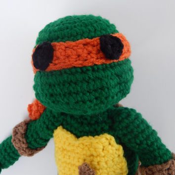 Custom Crochet Ninja Turtle