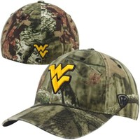 Top of the World West Virginia Mountaineers Resistance Flex Hat - Mossy Oak Camo