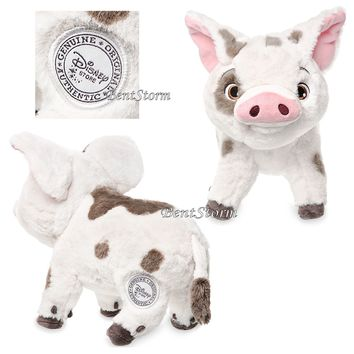 "Licensed cool Moana PUA PIG Disney Store Exclusive Authentic 9 1/2"" Island Plush Toy Animal"